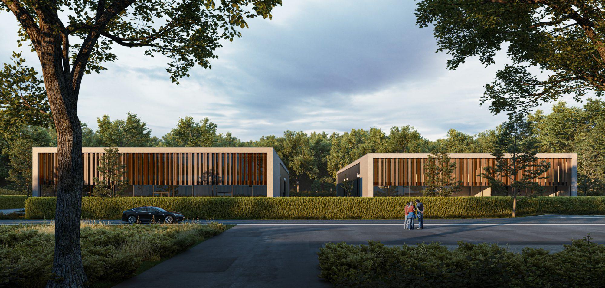 Kolmont BIZ Stadheide KMO tekoop hasselt bedrijvenpark