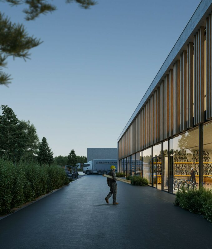 Kolmont BIZ Stadheide KMO tekoop hasselt bedrijvenpark vitrine