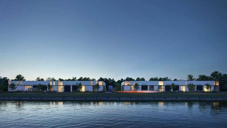 Kolmont BIZ Kaai West KMO tehuur hasselt water bedrijvenpark